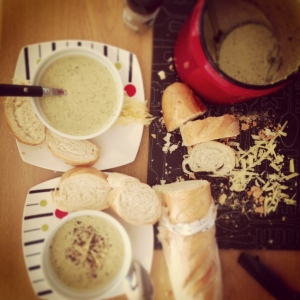Tulip's- Creamy Broccoli and Boerekaas soup