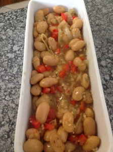Tulip's Butter beans and red pepper
